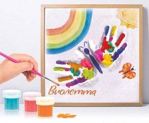 Набор для создания гипсового слепка с росписью «Бабочка» (для девочки)