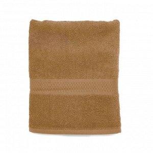 Полотенце банное 70*130 Spany, махровое, светло-коричневое