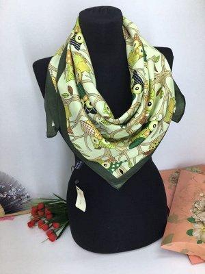 Платок 100%silk