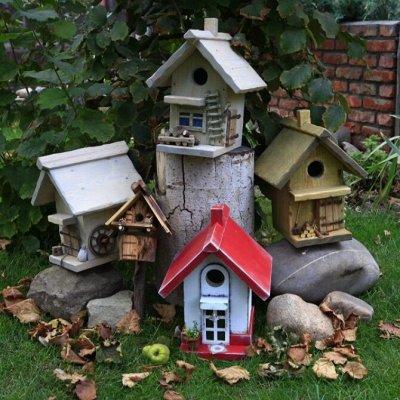 🍅🍆Для Сада и Огорода🍒🍋 Отдыха и Уборки🍖Есть в Наличии! — Скворечники, кормушки для птиц — Садовый декор
