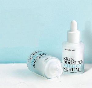 Осветляющая молочная сыворотка-бустер, 30 мл So Natural Skin Booster Milk Oil Serum