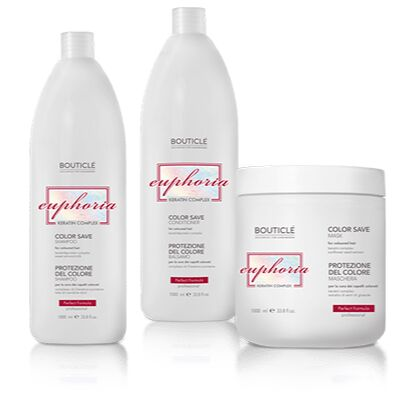 Bouticle + DCM. Серия для поврежденных осветленных волос — Color Care — Сохранение цвета и восстановление волос