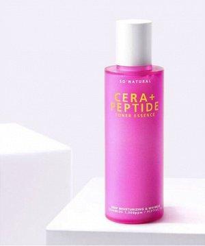 So Natural Cera+ Peptide Toner Essence Пептидный тонер для зрелой кожи, 120 мл