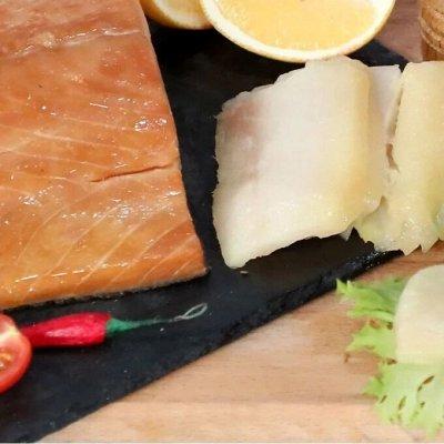 Кета х/к- балык, филе, в масле...Салаты, масляная рыба — Масляная рыба филе х/к — Соленые и копченые