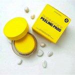 So Natural Shining Face Peeling Pads Пилинг-пэды с витамином С, 80 шт