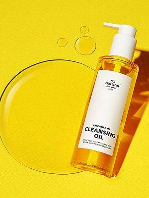 So Natural Ampoule in Cleansing Oil Ампульное гидрофильное масло, 200 мл
