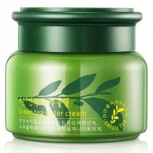 Увлажняющий крем для лица с зеленым чаем
