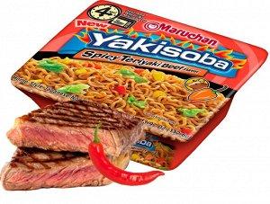 Лапша быстрого приготовления Маручан Якисоба, говядина с сосом терияки - 113,4 г., США