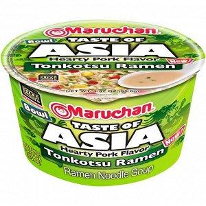 Лапша быстрого приготовления Маручан Боул Тэйст с азиатским вкусом тонкотсу - 94.2g