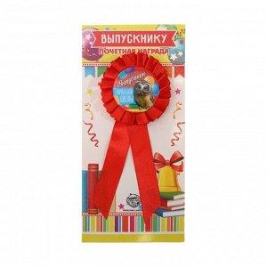 Значок - орден пластик «Выпускник начальной школы», 4,5 х 17 см
