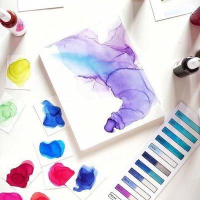 Art Идея. Вся палитра красок и товаров для творчества — Спиртовые чернила — Краски