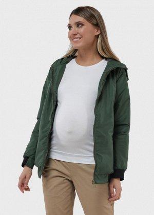 """Куртка демис 2в1 """"Орландо"""" для беременных; цвет: зеленый"""