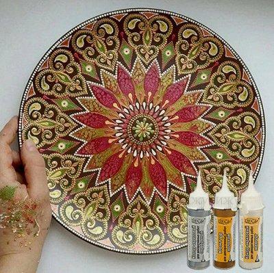 Art Идея. Вся палитра красок и товаров для творчества — Контуры — Краски