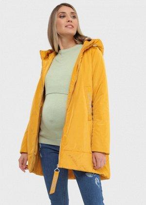 """Куртка демис 2в1 """"Берн"""" для беременных; горчичный"""