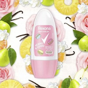 РЕКСОНА (Rexona) дезодорант ролик жен. 50мл. Нежно и сочно
