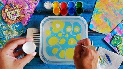 Art Идея. Вся палитра красок и товаров для творчества — Краски и наборы для эбру — Краски