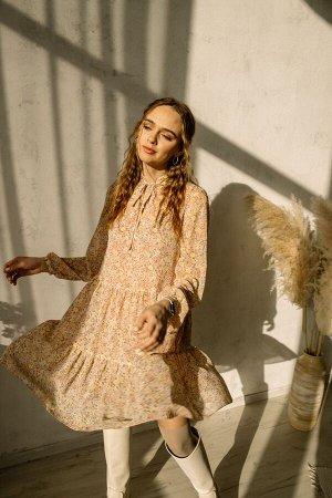Платье Платье Pur Pur 01-850/6  Состав: ПЭ-100%; Сезон: Весна Рост: 170  Коллекция Pur Pur 2021.