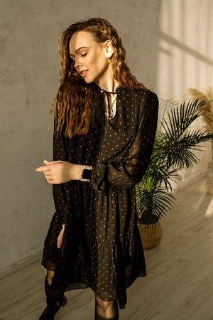 Платье Платье Pur Pur 01-850/7  Состав: ПЭ-100%; Сезон: Весна Рост: 170  Коллекция Pur Pur 2021.