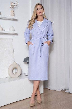 Пальто Пальто ЮРС 21-546/с  Состав ткани: ПЭ-42%; Шерсть-6%; Акрил-52%;  Рост: 164 см.  Пальто из приятной, качественной пальтовой ткани, модное и женственное, будет выгодно выделять вас из толпы и п