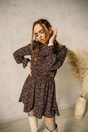 Платье Платье Pur Pur 01-900  Состав: Вискоза-15%; ПЭ-85%; Сезон: Весна-Лето Рост: 170  Коллекция Pur Pur 2021.