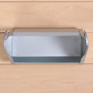 Навесная кормушка, 20 см, металл