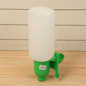 Поилка чашечная для домашней птицы, навесная, 2 л, пластик