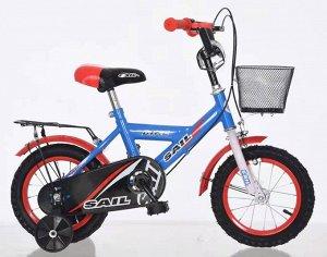 Велосипед детский 2-х колесный SAIL 14 д. HD-026 (15,3) (1/2) синий
