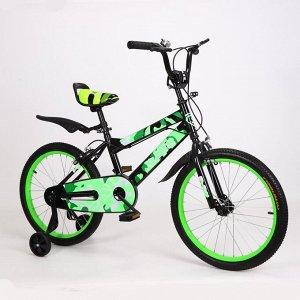 Велосипед детский 2-х колесный SAIL 20 д. ZZ-BMX-L004 (1/1) черно/зеленый