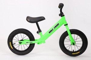 Детский 2-х колесный самокат с седлом GOLF TRIKE HD-015 (1/1) зеленый
