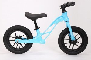 Детский 2-х колесный самокат с седлом GOLF TRIKE S31 голубой