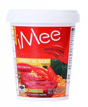 """Сублимированная лапша с мясным вкусом """"iMee Beef"""" 65 гр."""