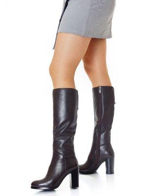 Сапоги Страна производитель: Китай Размер женской обуви x: 37 Полнота обуви: Тип «F» или «Fx» Сезон: Зима Вид обуви: Сапоги Материал верха: Натуральная кожа Материал подкладки: Натуральный мех Каблук/