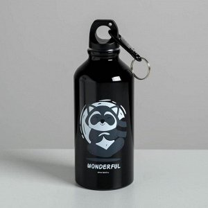 """Бутылка для воды """"Wonderful"""", 400 мл"""