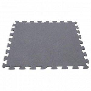 Мягкая модульная подстилка «Пазл», 50 х 50 х 0,5 см, 8 шт, 1,9 м?, 29084 INTEX