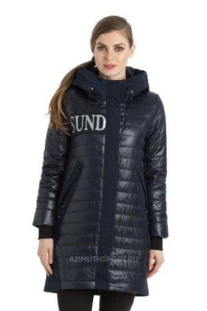 Женское пальто Alpha Endless 1093 Темно-сиинй