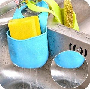 Кухонный держатель губок на раковине и ванной комнате