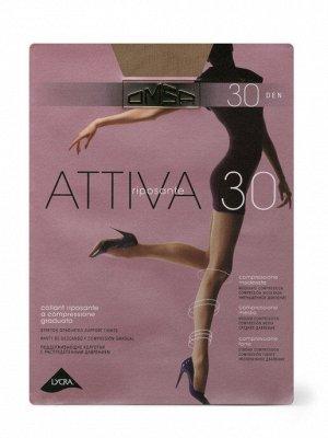 OMSA / Колготки ATTIVA 30 (распределённое давление по ноге)