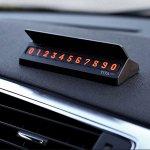 Табличка для номера телефона на панель автомобиля