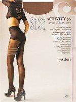 Activity 70 (Sisi) /5/ шелковистые колготки с плотными моделирующими шортами