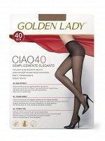 GOLDEN LADY / Колготки CIAO 40 (эластичные, прозрачные с классической посадкой)
