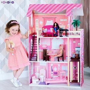 """Дом кукольный PAREMO """"Монте-Роза"""" (с мебелью)1"""