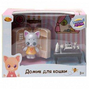 Игровой набор ABtoys Уютный дом Домик для кошки малый. Кухня54