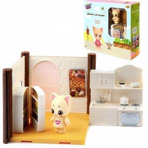 Игровой набор ABtoys Уютный дом Домик для кошки. Кухня137