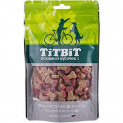 TITBIT Косточки мясные д/соб с индейкой и ягненком 145гр (1/36)