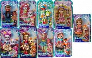 Кукла Mattel Enchantimals со зверюшкой 15 вид Дополнительная620