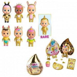 Кукла IMC Toys Cry Babies Magic Tears GOLDEN EDITION Плачущий младенец с домиком и аксессуарами 7 видов918