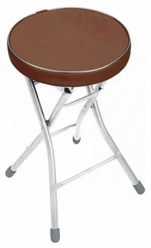 Складной табурет с мягким сиденьем, до 100 кг
