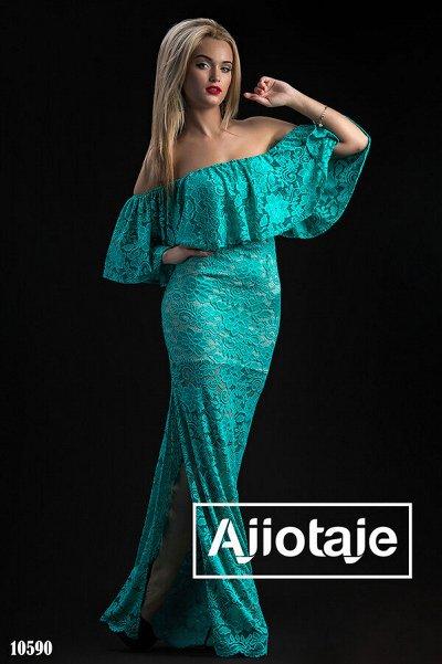 AJIOTAJE Яркое лето 2021 🌺 женская одежда — Вечерние и праздничные платья