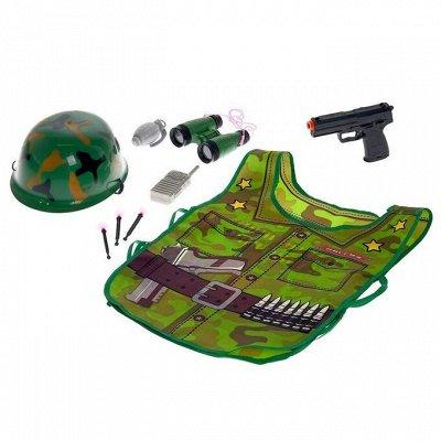 Сима - Игрушки для мальчиков — Наборы полицейского и военного — Игрушки и игры