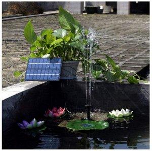 Декоративный фонтан на солнечной батарее FH-01